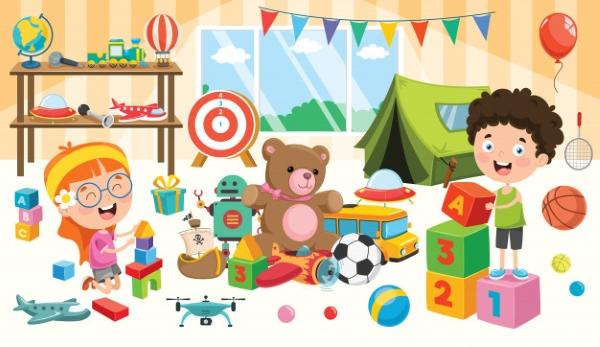Số lượng đồ chơi đa dạng