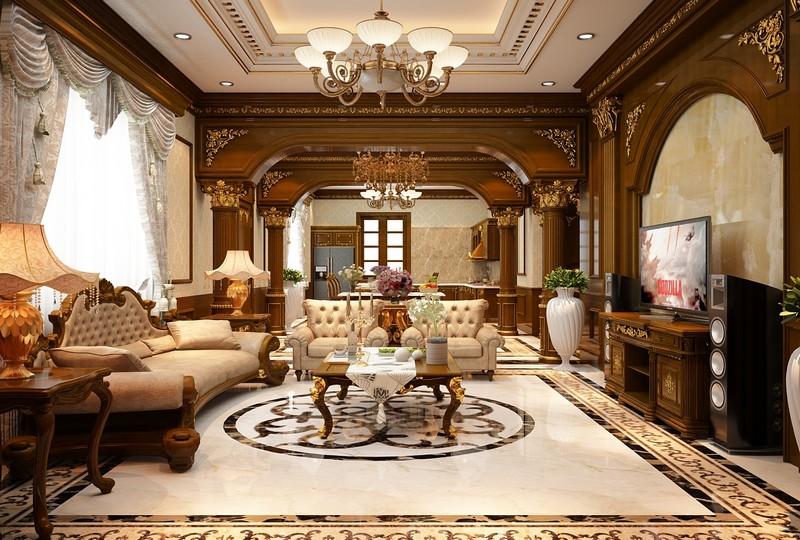Phong cách nội thất châu Âu cổ điển